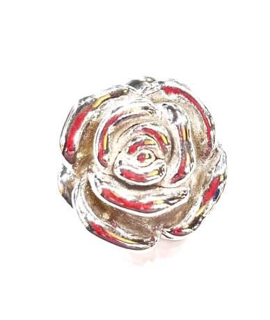 Gyönyörű üreges ezüst rózsa...