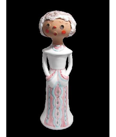 Kerámia hölgy
