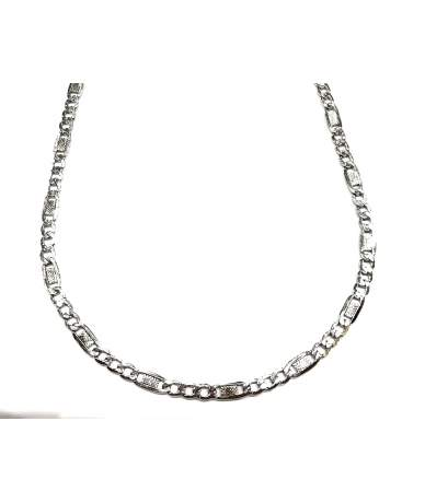 Ezüst fantázia szemes nyaklánc
