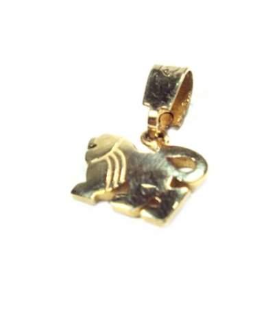 Sárga arany horoszkópos medál