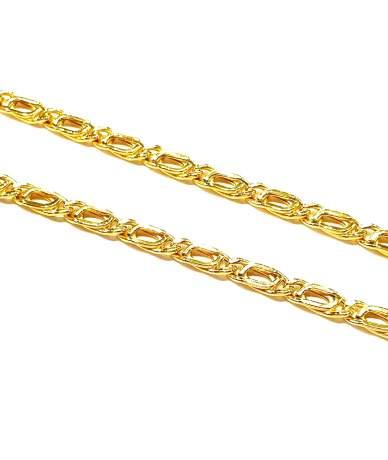 Nyújtott  scharless arany lánc