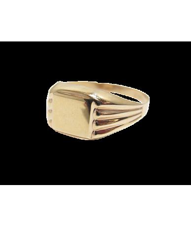 Arany férfi pecsét gyűrű.