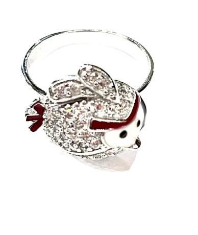 Angry birds ezüst gyűrű