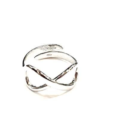 Végtelen jel ezüst gyűrű