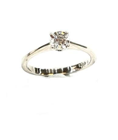 Fehér arany gyémánt köves...