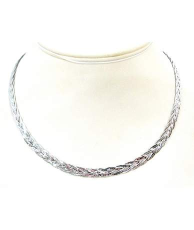 Női ezüst nyakék