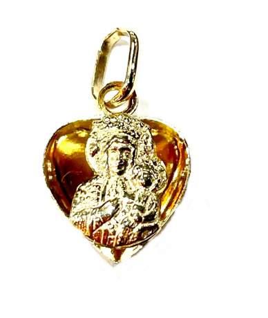 Arany Mária gyermekével medál