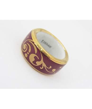 ZEMA porcelán gyűrű