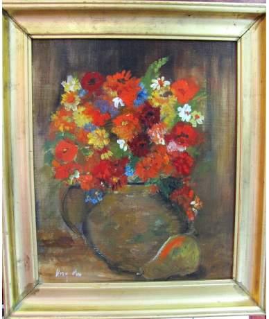 Virág Éva: Virágcsendélet
