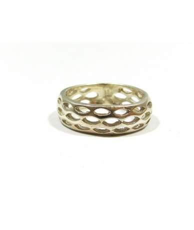 Ezüst gyűrű kő nélkül
