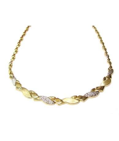 Arany női nyakék